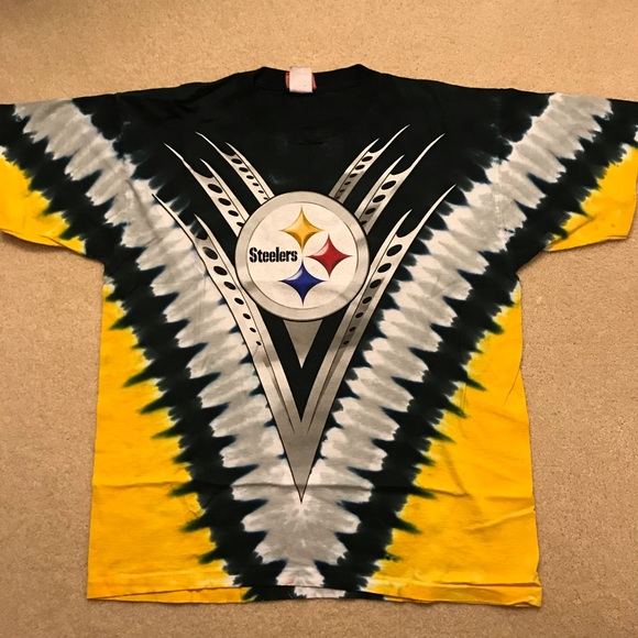 f92002f4 Official NFL Pittsburgh Steelers tie dye to shirt
